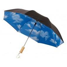 """Зонт Blue skies 21"""" двухсекционный полуавтомат"""