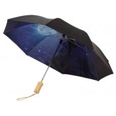 """Зонт Clear night sky 21"""" двухсекционный полуавтомат"""