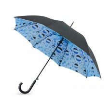 """Зонт-трость """"Капли воды"""" полуавтоматический с двухслойным куполом"""